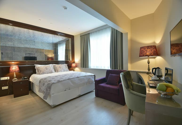 Adamel Hotel Istanbul, Istanbul, Deluxe Double Room, City View, Guest Room