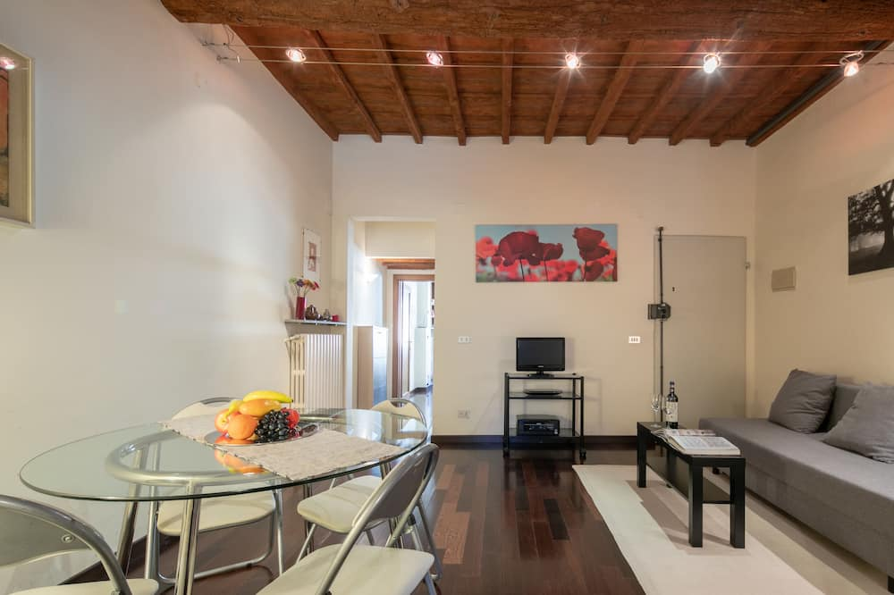 شقة مريحة - غرفة نوم واحدة - منطقة المعيشة