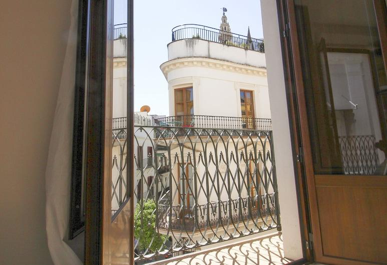 Deluxe Apartment with Giralda views, Seville, Apartmán, 1 spálňa, balkón, Balkón