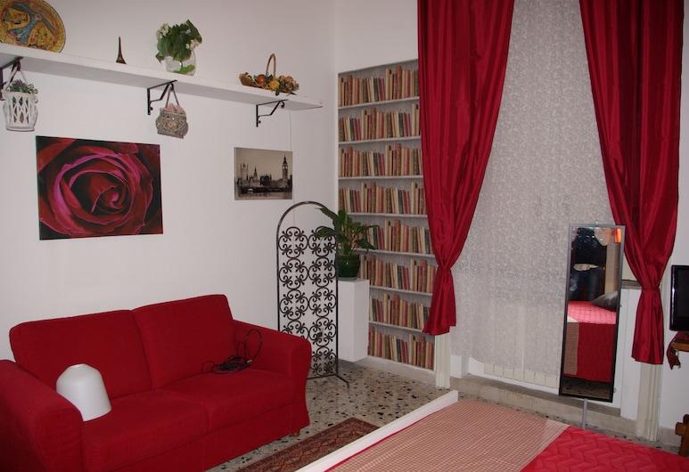 앨리스 B&B, 팔레르모, 더블룸, 퀸사이즈침대 1개, 객실