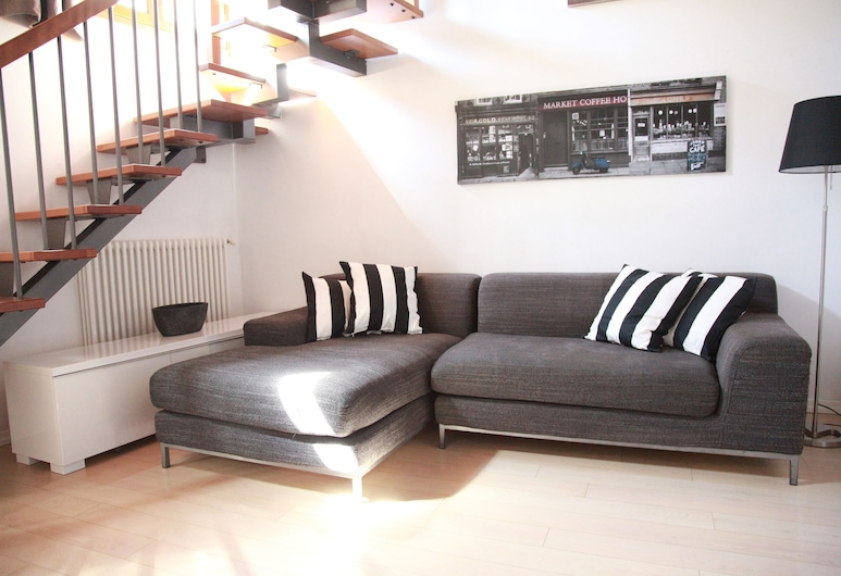 Apartment della Seta, Florence, Appartement, 2 slaapkamers, Woonruimte