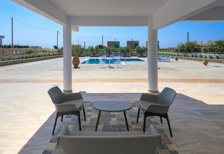 瓦拉西亚别墅酒店, 罗德岛, 露台