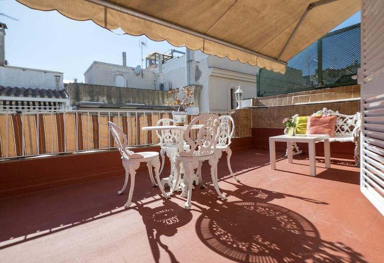 Penthouse Grode, Sitges, Terraza o patio