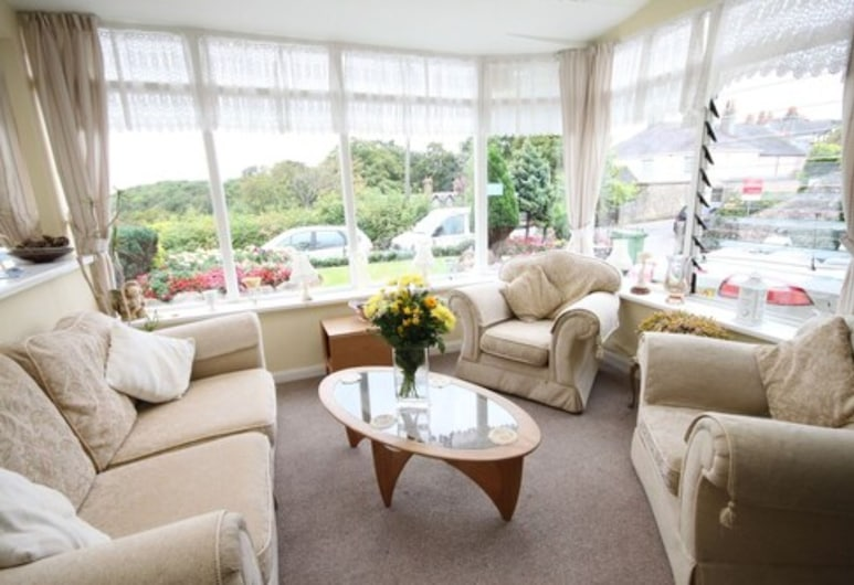 Coombe Court hotel, Torquay, Lobby Sitting Area