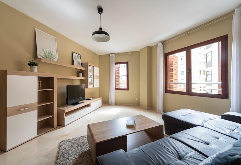 Apartamentos Dunas Canteras, Las Palmas, Appartement, 2 chambres (I), Coin séjour