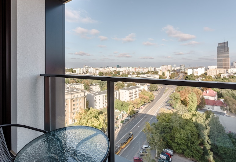 Chill Apartments City Tower, Βαρσοβία, Superior Διαμέρισμα, Μπαλκόνι