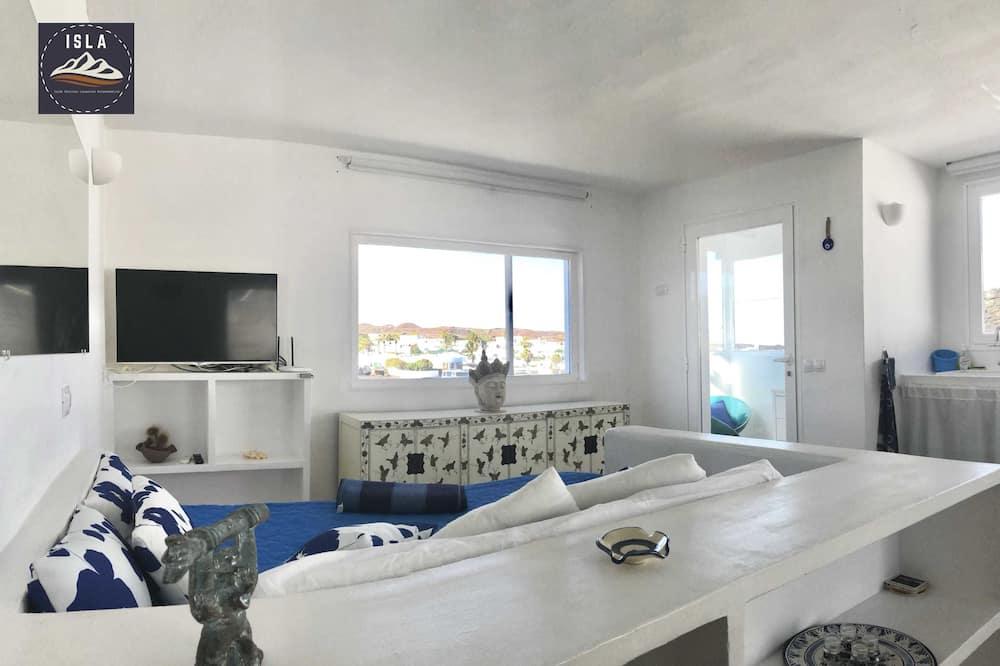 Lägenhet - 1 sovrum - uteplats - havsutsikt - Vardagsrum