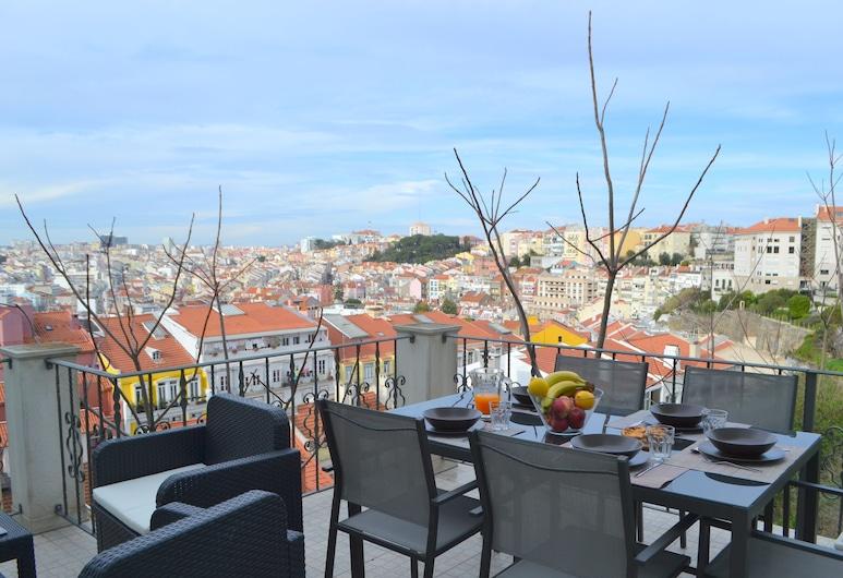 RH Monte 2, Lissabon, Udendørs spisning