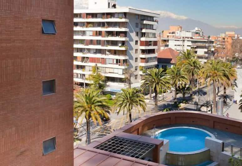 Departamentos Amoblados Costa 151, Santiago, Studio, 1 Double Bed, Terrace/Patio