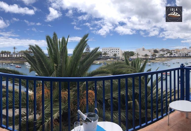 Terraza El Charco, Arrecife, Lägenhet - 2 sovrum - terrass - havsutsikt, Terrass