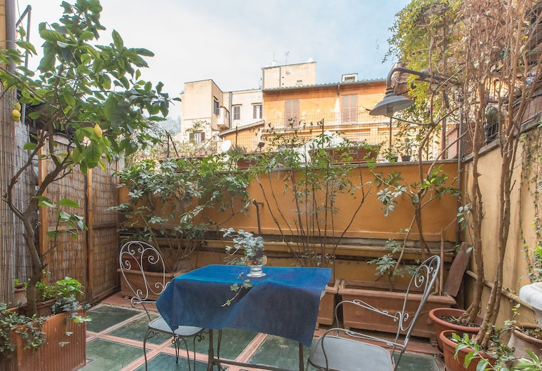 奥索阳台公寓酒店, Rome, 阳台