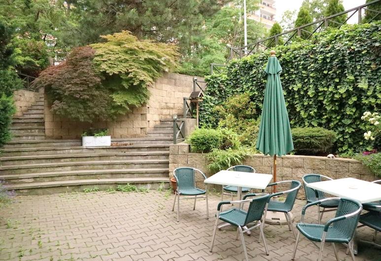 Hotel Peko, Praga, Área da acomodação
