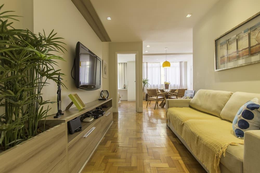 Appartement Deluxe, 3 chambres - Salle de séjour