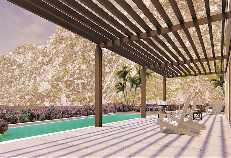 Secrets St. Martin Resort & Spa, Anse Marcel, Suite presidencial, vista al mar, Terraza o patio
