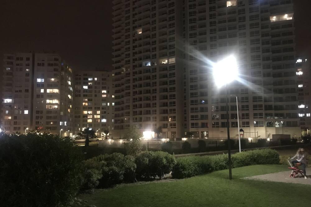 Семейные апартаменты, Несколько кроватей, вид на залив - Зона гостиной