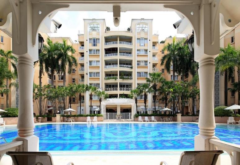廣州金亞花園奧克伍德華庭公寓, 廣州市, 室外泳池