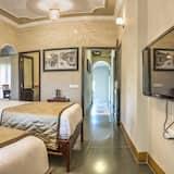 Dobbeltværelse med dobbeltseng eller 2 enkeltsenge - ryger - hjørneværelse - Værelse