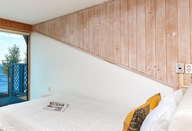 SANTORINI N Pension, נמהא, חדר, נוף לאוקינוס (205), חדר אורחים