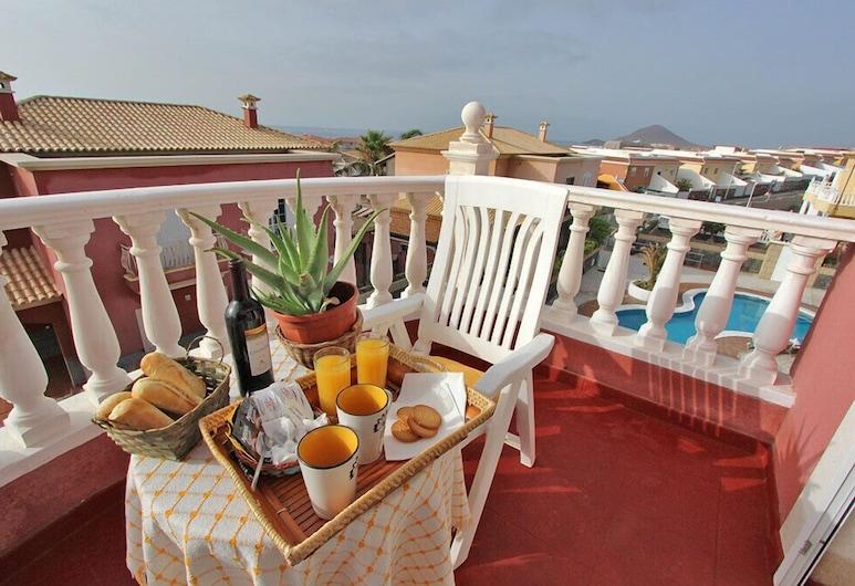 Villa Las Dunas, Granadilla de Abona, Zweibettzimmer, Meerblick, Terrasse/Patio