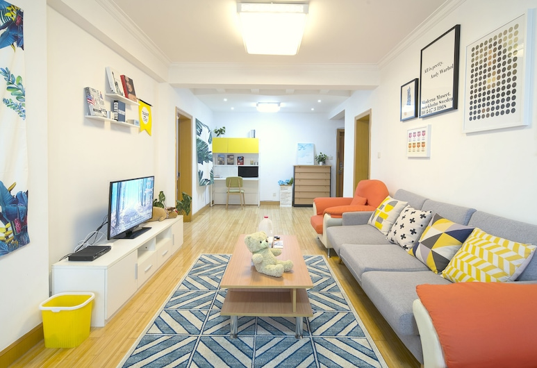 Good Time Travellers Inn-People Square No.2, Shanghai, Business Apartment, Living Area