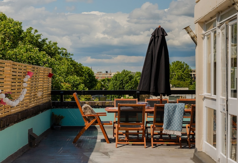 The Porchester Terrace - Modern & Bright 5bdr Penthouse With Terrace, London, Terrass