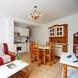apartman, 1 hálószobával, kilátással a városra (Rojo 1) - Nappali rész