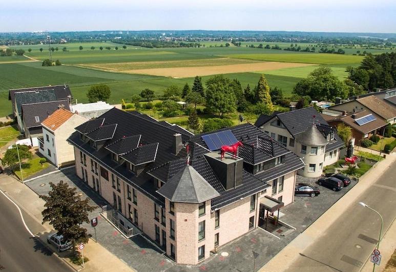 Hotel Rotes Einhorn, Dueren, Loftmynd