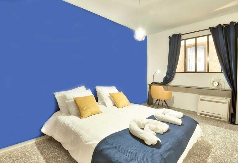Villa Lafaille Apartment Hotel By J, טולוז, דירה דה-לוקס, חדר