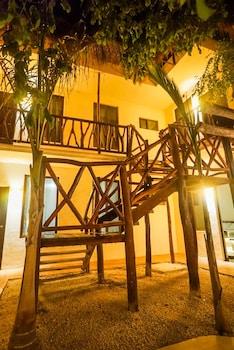 Selline näeb välja Hotel Vlandré Bacalar, Bacalar