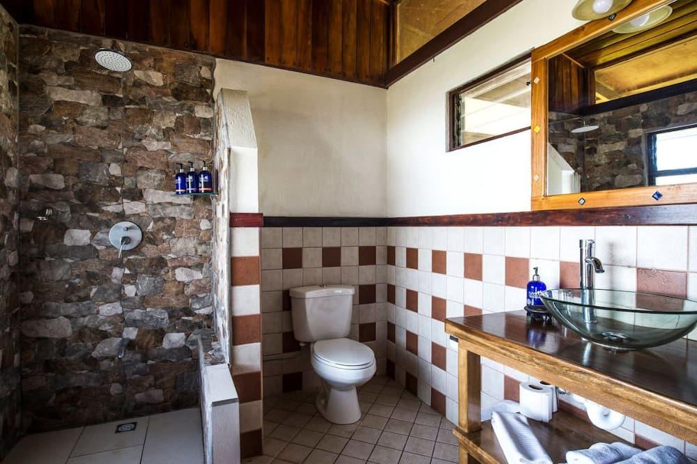 Класичний чотиримісний номер, з видом на сад - Ванна кімната