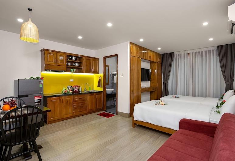 Perfume Apartment, Da Nang, Studiolejlighed (Twin), Opholdsområde