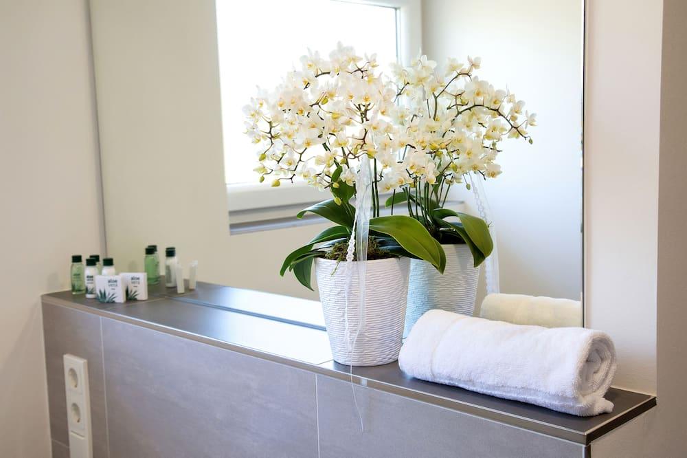 Enkeltværelse - Badeværelse