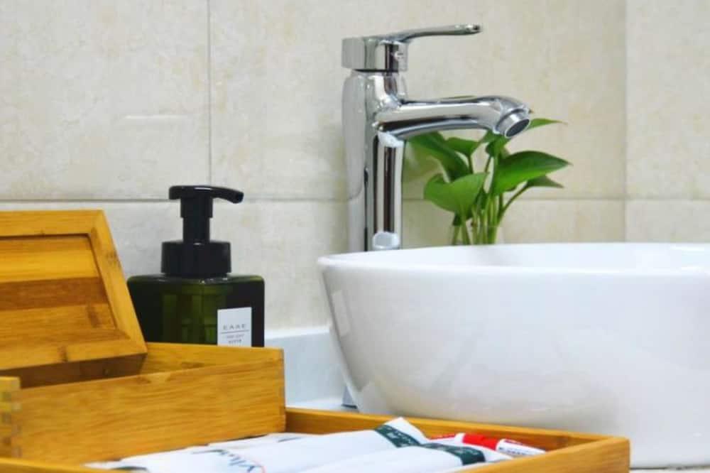 Habitación económica con 2 camas individuales (Mainland Chinese Only仅限中国大陆客人) - Lavabo en el baño