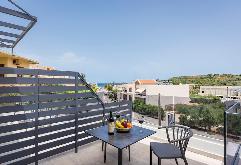 Aequor Luxury Rooms, Chania, Luxury Room, Partial Sea View, Balcony