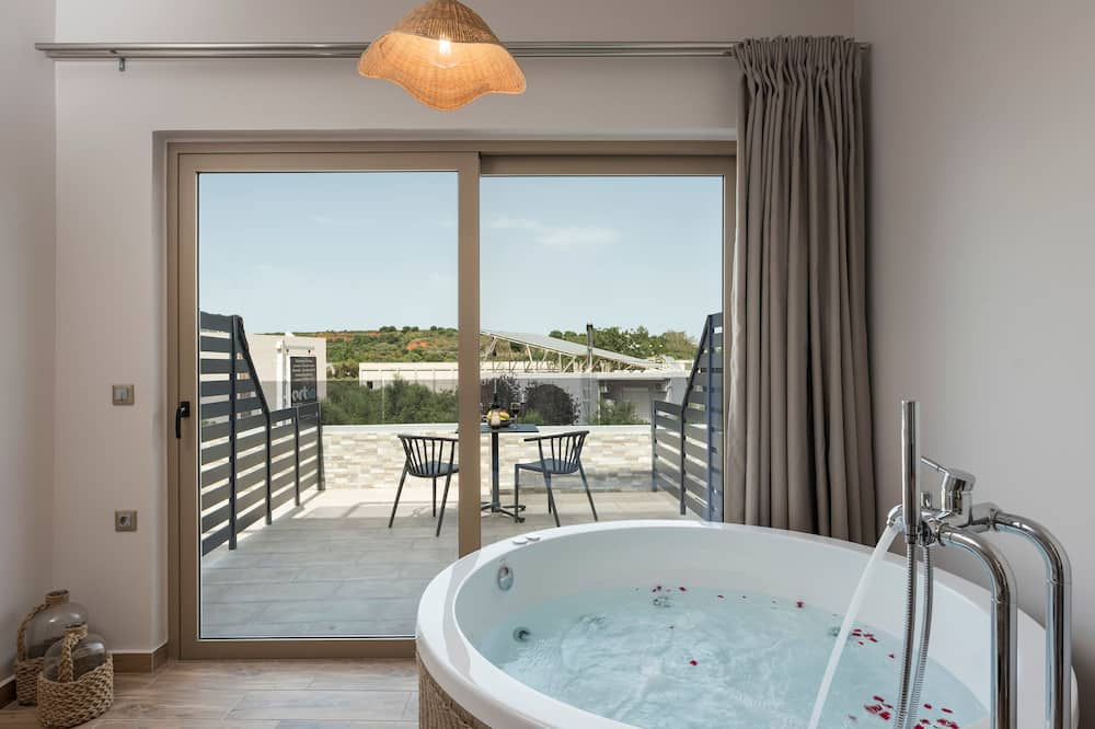 Luxury-Zimmer (Private Spa Tub) - Privater Whirlpool