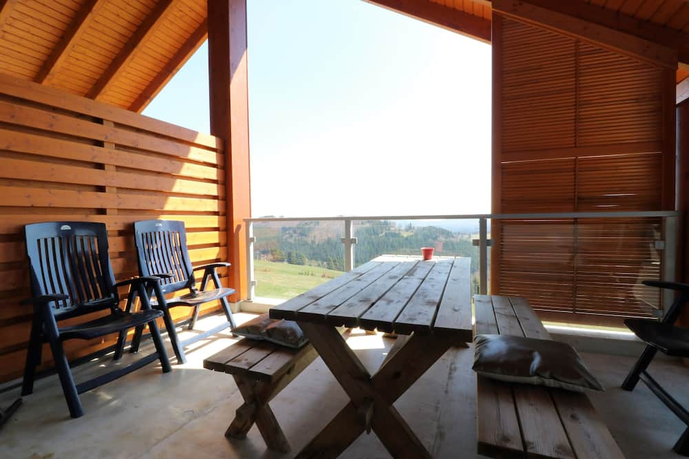 Penthouse aan de piste bij Winterberg 14 - Balcony