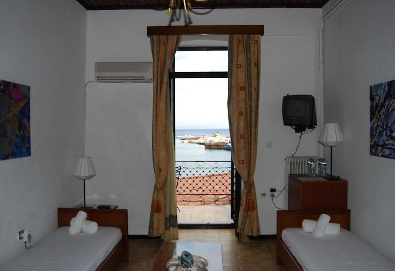 جيثيون هوتل, إيست ماني, غرفة مزدوجة - 3 أسرّة فردية منفصلة - بمنظر للبحر, غرفة نزلاء