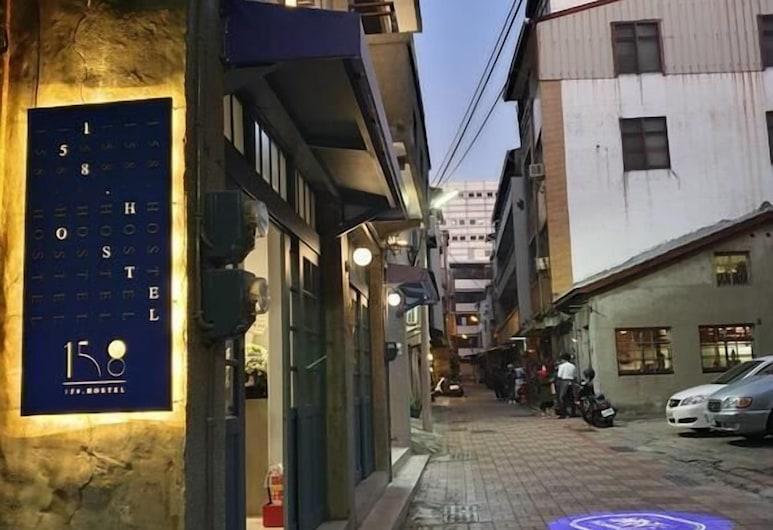 158 Hostel, Tainan, Viešbučio fasadas
