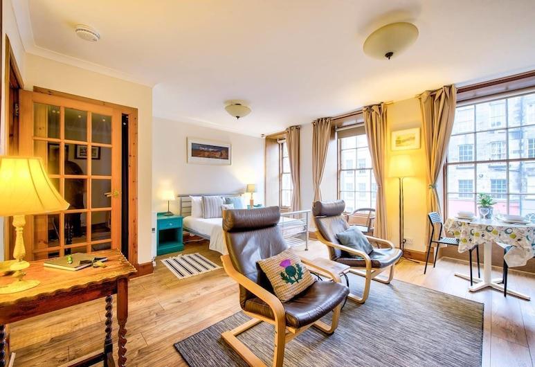 Royal Mile Apartment for Two - Location, Location!, Edinburgh, Külaliskorter (1 Bedroom), Lõõgastumisala