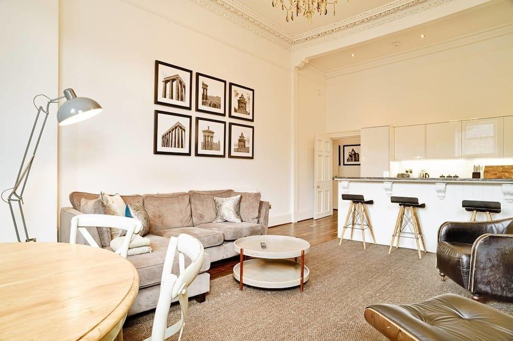 شقة (3 Bedrooms) - غرفة معيشة