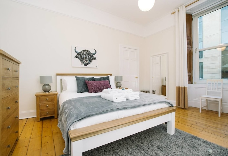 Great Location! Heart of City Centre 3bed Apartment, Edinburgh, Appartement (3 Bedrooms), Kamer