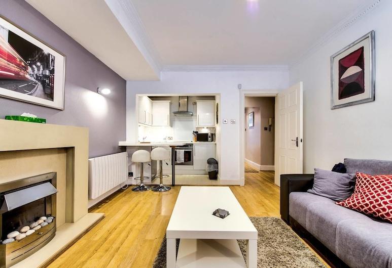 West End Boutique Apartment on William Street, Edinburgh, Appartement (1 Bedroom), Woonruimte