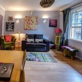 アパートメント (1 Bedroom) - リビング ルーム