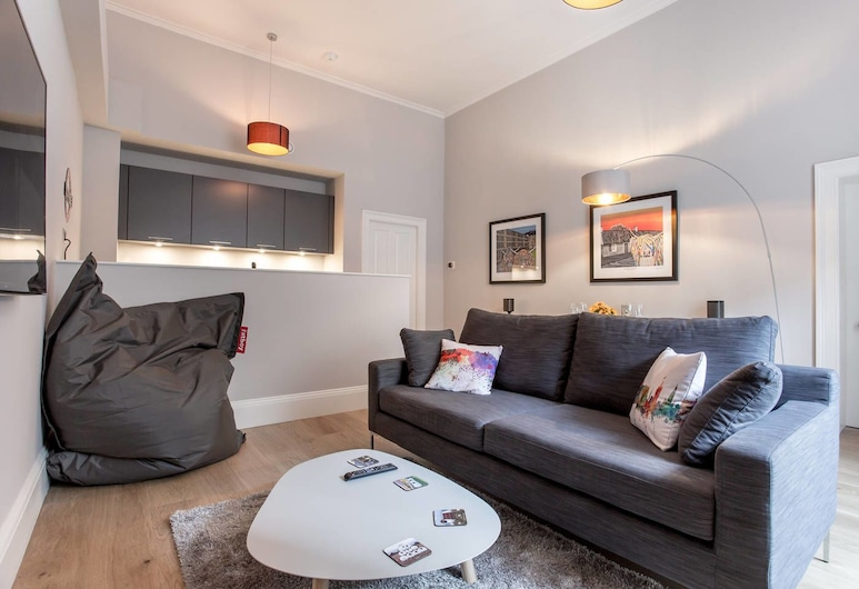York Place Apartment - Luxury City Centre, Εδιμβούργο, Διαμέρισμα (1 Bedroom), Καθιστικό