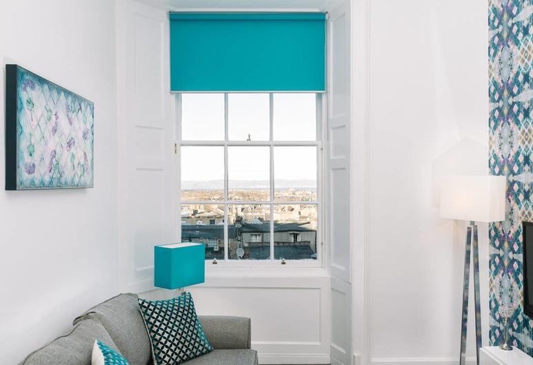 皮卡迪廣場酒店 - 完美市中心公寓, 愛丁堡, 公寓 (1 Bedroom), 客廳