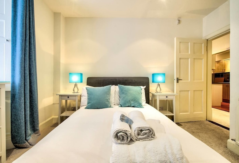 Quiet New Town Apartment, Edinburgh, Appartement, 1 tweepersoonsbed met slaapbank (1 Bedroom), Kamer