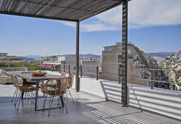 Kolonaki 8, Athén, Design lakosztály (Lykavitos View), Terasz/udvar