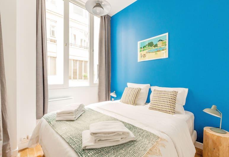 巴黎蒙托古耶 - 小路站埃得套房飯店, 巴黎, 公寓, 獨立浴室, 庭園景觀 (Edgar Suites  - Sentier), 客房