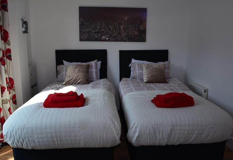 이그제큐티브 아파트먼트 카디프 센트럴, 카디프, 시티 아파트, 객실