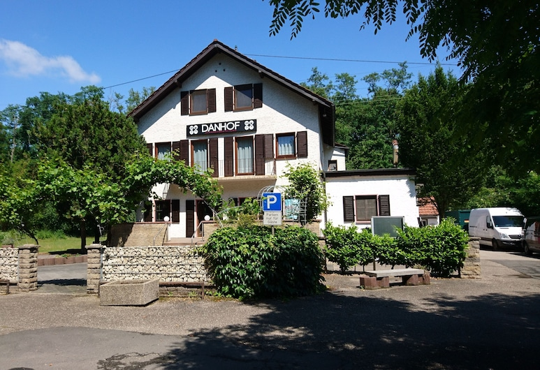 Danhof Guesthouse, Schifferstadt, Hotellets facade